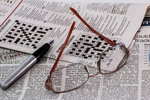 crossword puzzles and other fun games on newspapers ghana toghana
